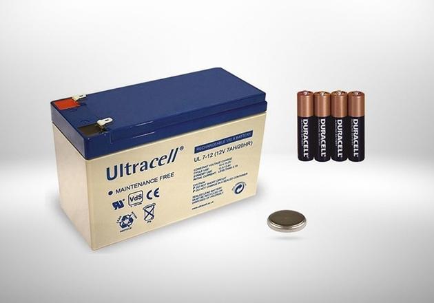 Afbeelding voor categorie Batterijen, accu's, accessoires