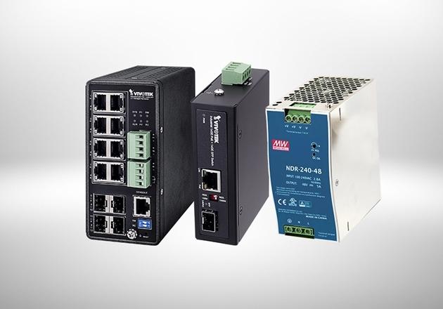 Image de la catégorie Industrial PoE Products