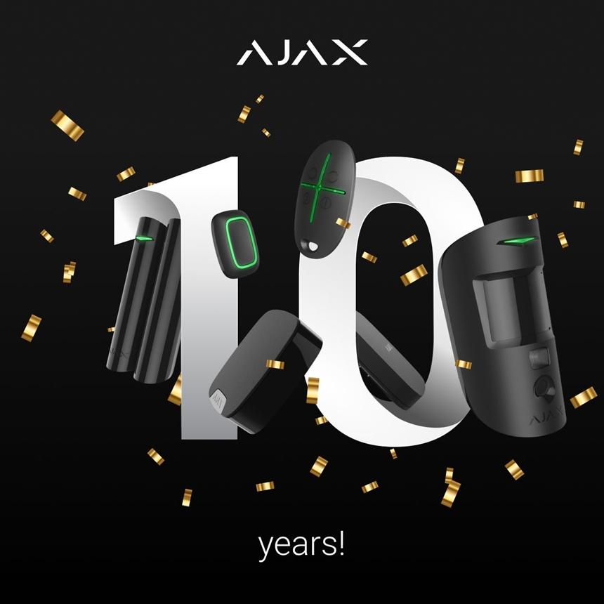 AJAX A 10 ANS !