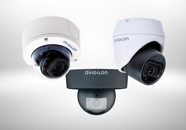 Picture for category Avigilon dome camera's
